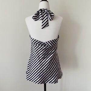 H&M super cute line print soft top